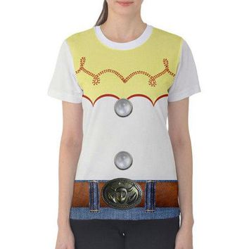 Women's Jessie Toy Story Inspired ATHLETIC Shirt