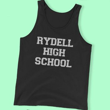 Rydell High School Rease Musical Movie Men'S Tank Top