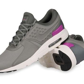 VONE05SN Nike Men's Air Max Zero Premium River Rock/Dark Stucco-Sail Running Shoes