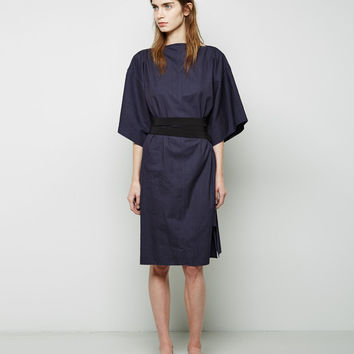 Chambray Obi Dress by MM6 by Maison Martin Margiela
