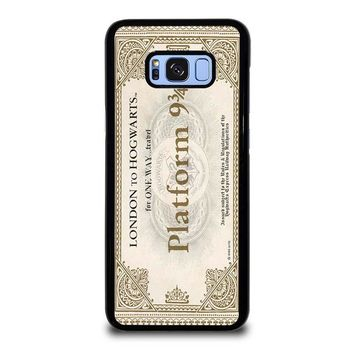 HARRY POTTER TICKET Samsung Galaxy S8 Plus Case Cover