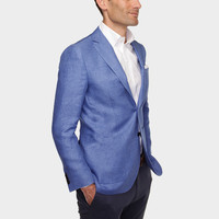 The Blue Giles Linen Sport Coat