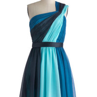 Max and Cleo Symphonic Streams Dress | Mod Retro Vintage Dresses | ModCloth.com