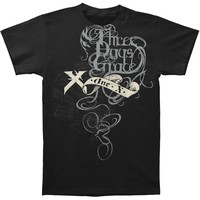 Three Days Grace Men's  Midnight Strangler T-shirt Black