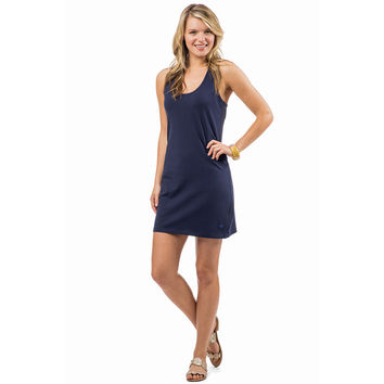 Summer Daze Dress in Nautical Navy by Southern Tide