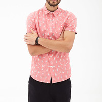 Sailboat Print Shirt