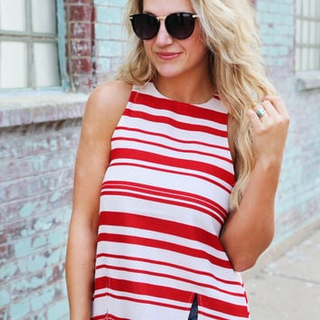 Sweet Candy Striper {Striped Tunic}