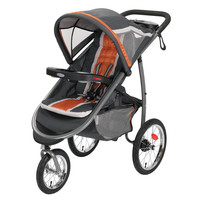 Graco FastAction Fold Click Connect Jogger Stroller - Tangerine