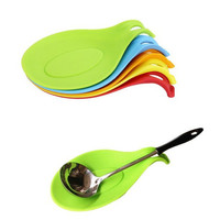 Stylish Hot Deal Home On Sale Easy Tools Kitchen Helper Hot Sale Cute Small Size Silicone High Temperature Resistance Tools Spoon [6283924934]