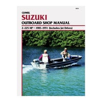 Clymer Suzuki 2-225 HP Outboards (Includes Jet Drives) (1985-1991)
