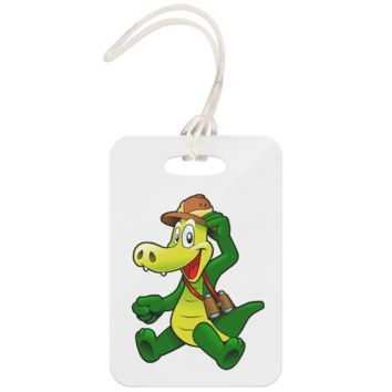 Crocodile - Luggage Tag