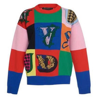 Versace Women's embroidered sweaters