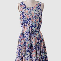 Island Hopping Floral Dress