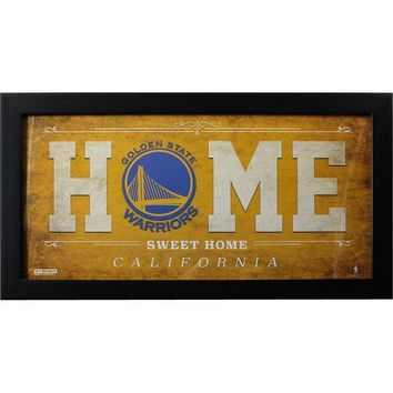 MDIGMS9 Golden State Warriors 10x20 Home Sweet Home Sign
