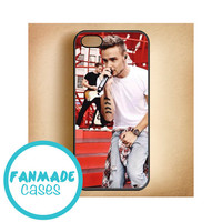 Liam Payne red iPhone 4/4s 5/5s/5c & iPod 4/5 Rubber Case