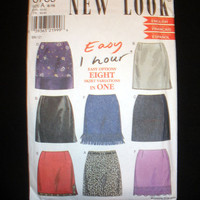 Women's Skirts with 8 Options Misses' Size 6,8,10,12,14,16 Simplicity New Look 6789 Sewing Pattern Uncut