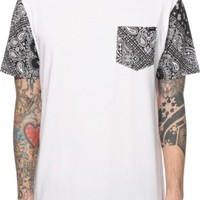 Ninth Hall Worldwide Bandana Pocket T-Shirt