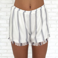 Cape Cod Stripe Shorts