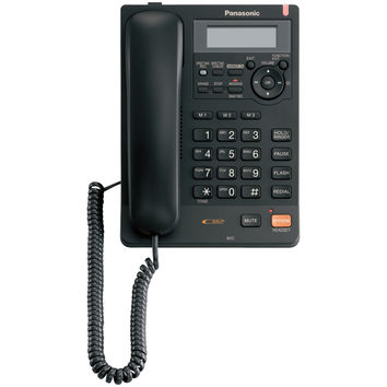 Panasonic Single-line Corded Integrated Telephone System With All-digital Answering System (black)