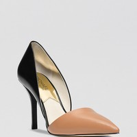 MICHAEL Michael Kors Pointed Toe D'Orsay Pumps - Julieta High Heel
