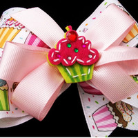 Deluxe Cupcake Bow