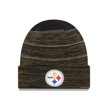 Pittsburgh Steelers NFL17 Sideline Cuffed Knit Hat By New Era