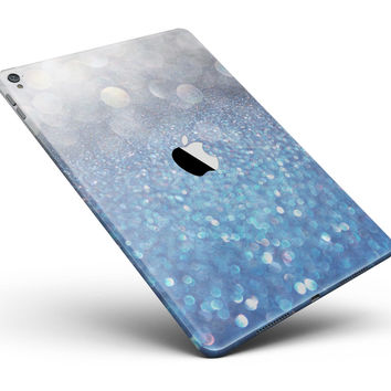 "Unfocused Blue Orbs of Light Full Body Skin for the iPad Pro (12.9"" or 9.7"" available)"