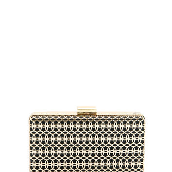 Honeycomb Plated Solid Clutch