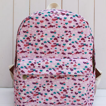 Canvas Print 3-color Thicken Backpack = 4887827652