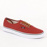 Vans Authentic Hiker Red Canvas Henna Shoes at PacSun.com
