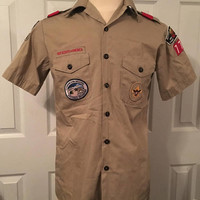 1996 Olympics Boy Scout Uniform, Atlanta Boy Scouts of America, Boy Scouts Troup 77,  Boy Scouts Collectible, Size Medium