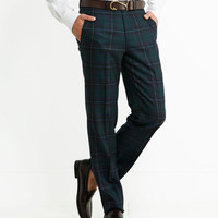 Tartan Dress Pants