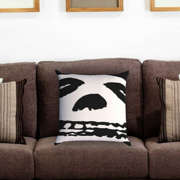 The Misfits Pillow Cover , Custom Zippered Pillow Case One Side Two Sides