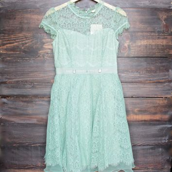 final sale - belle of the ball dress by Ryu in sage