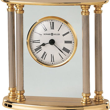 0-013020>New Orleans Table-top Clock Brass