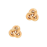Golden knot earrings - earrings - Women's jewelry - J.Crew