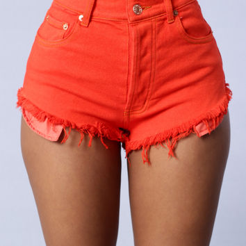 Denim Shorts Candy Colors 2017 Women's Fashion Brand Vintage Tassel Ripped Loose High Waist Shorts Punk Sexy Short Jeans 2070