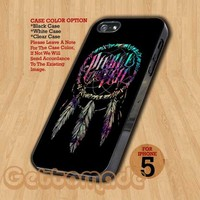 Pierce The Veil Dream Catcher - Print On Hard Case iPhone 5 Case