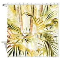 Green Wash Bamboo Shower Curtain> Tropical> Tropical Design Studio