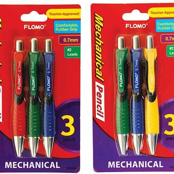 3 pack Mechanical Pencils (Style #948) - CASE OF 48