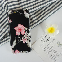 Art flower phone  case for iPhone 7 7plus 6 6S 6plus 6Splus 1109J01