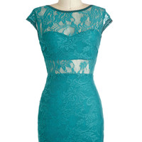 Teal There Was You Dress | Mod Retro Vintage Dresses | ModCloth.com
