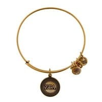 Alex and Ani Zeta Tau Alpha Charm Bangle - Russian Gold