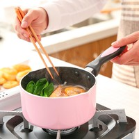 Keelorn Sauce Pans 2017 New Fashion Non-Stick Without Pot Cover 16cm Boiled face hot milk omelette Pans