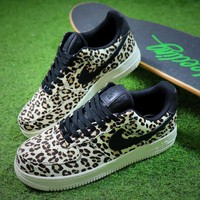 Nike Wmns Air Force 1 '07 LX Animal Prints Pack Snow Leopard Sneaker AF1 898889-004 Shoes
