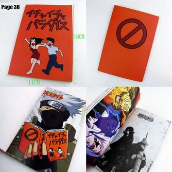 Naruto Sasauke ninja New  Hatake Kakashi Cosplay Book Icha Icha Paradise Make out Mobile Series Sasuke AT_81_8