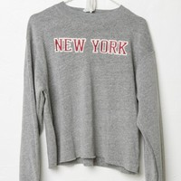 ACACIA NEW YORK PATCH SWEATSHIRT