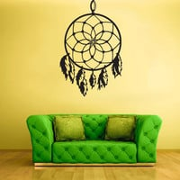 Wall Decal Vinyl Sticker Decals Dream Catcher Dreamcatcher Birds Wind z1440