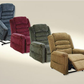 Catnapper Soother Power Lift Chair Recliner with Heat & Massage 4825