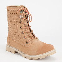 Roxy Pike Womens Boots Tan  In Sizes